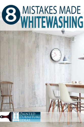Whitewashing the right way with these professional painting tips for your next DIY project!