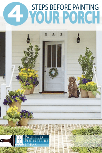 Check out these 4 things you must do before you paint your deck!